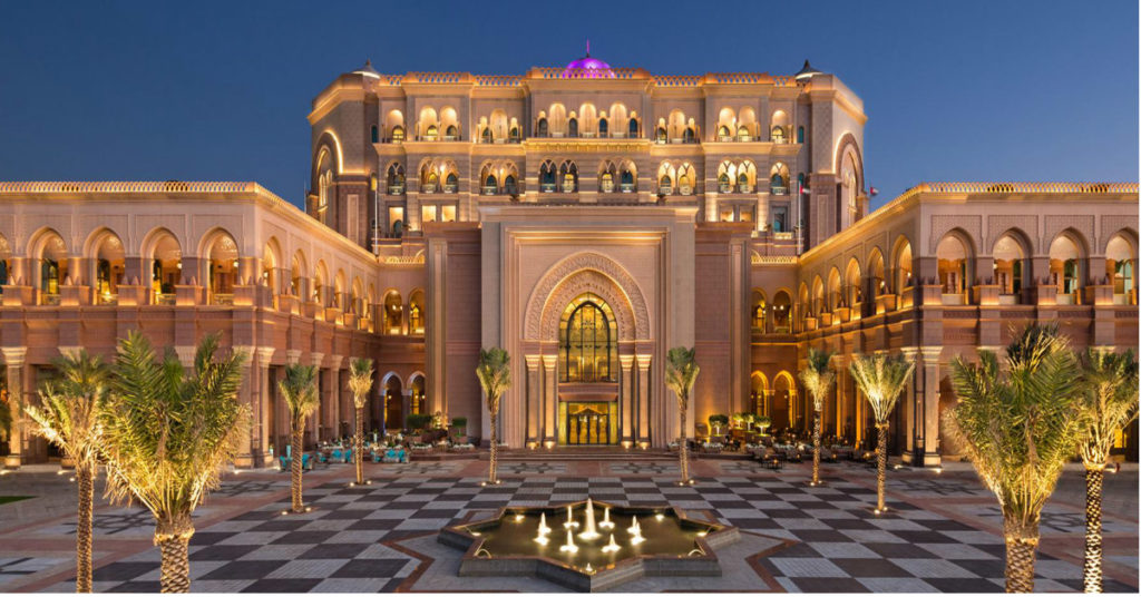 emirates palace abu dhabi wedding planner